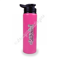 KAD Water Bottle - Hot Pink #KADdict