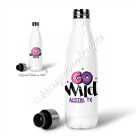KAD Exclusive Water Bottle - GO Wild 2018 (Personalized)