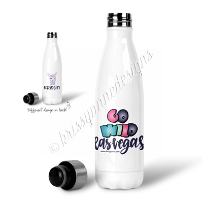 Personalized Water Bottle - GO Wild 2019 - Dream Chaser