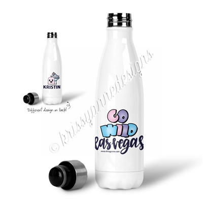 Personalized Water Bottle - GO Wild 2019 - Wild Dreams