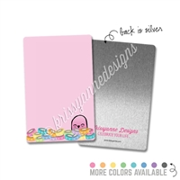 Rectangle Metal Washi Card - Washi Steve