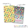 Personalized Rectangle Metal Washi Card - Planner Doodles