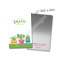 Washi Card - Punny Love Succa