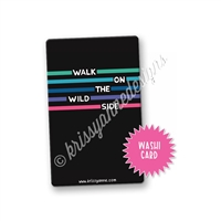 Washi Card - Wild Side
