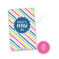 Washi Card - New Day