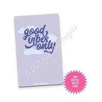 Washi Card - Good Vibes