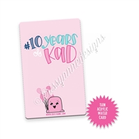 Washi Card - 10 Years of KAD Exclusive