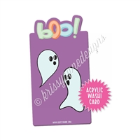 Washi Card - Boo!