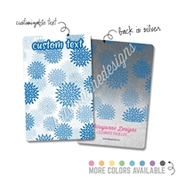 Personalized Rectangle Metal Washi Card - Mums