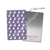 Rectangle Metal Washi Card - Happy Haunting