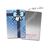 Rectangle Metal Washi Card - Shine Bright Present