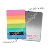 Personalized Rectangle Metal Washi Card - Sweet Summertime