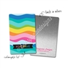 Personalized Rectangle Metal Washi Card - Summer Paradise Waves