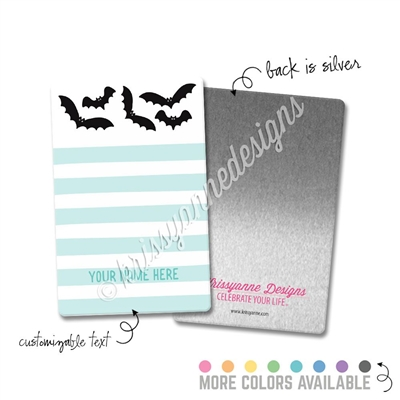 Personalized Rectangle Metal Washi Card - Here for the Boos