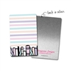 Rectangle Metal Washi Card - One More Page