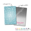 Personalized Rectangle Metal Washi Card - Oh What Fun