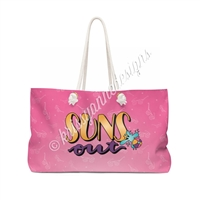 KAD Extra Large Weekender Tote - Suns Out