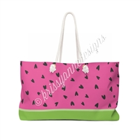 KAD Extra Large Weekender Tote - One in a Melon