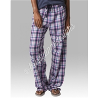 KADdict Wear - Pink and Purple Plaid PJ Pant
