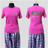 KADdict Wear - Pink Always Choose Kindness Shirt Only
