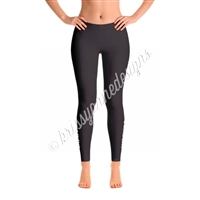 KADdict Wear - Black #KADdict Leggings