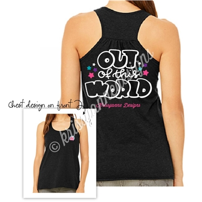 KADdict Wear - Black Out of this World Tank