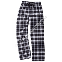 KADdict Wear - Black/White Plaid PJ Pant