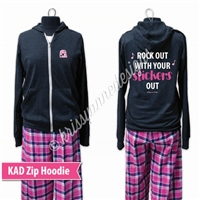 KADdict Wear - Rock Out Hoodie