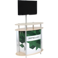 Ellipse Vertical Showcase Kiosk
