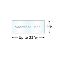 "9""h Twist Showcase Panel"