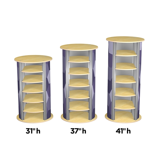 5-Up Medium Circle Pedestal