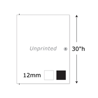 "30""h Twist Unprinted Locking Door"
