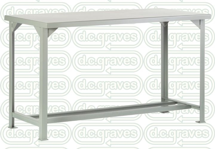 1WST28 - Open Frame Fixed Height Workbench - 36