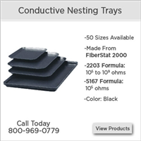 ESD Safe - Conductive Nesting Trays