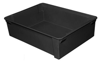 "705100 - ESD Safe Conductive Stack & Nest Box - (21-1/8"" L x 15-5/8"" W x 6"" H)"