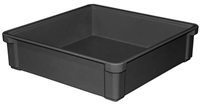"817000 - ESD Safe Conductive Stacking Box - (17-1/2"" L x 17-1/2"" W x 4-1/2"" H)"