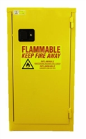 BJ Slim Line Safety Flammable Cabinet with Self Close Doors