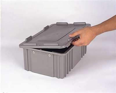CDC2040 - Heavy Duty Solid Lid, Color Gray