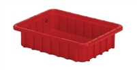 "Carton of (24) DC1-025 - Divider Tote Box, 10-7/8"" L x 8-1/4"" W x 2-1/2"" H"