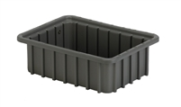 "Carton of (16) DC1-035 - Divider Tote Box, 10-7/8"" L x 8-1/4"" W x 3-1/2"" H"