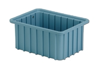 "Carton of (16) DC1-050 - Divider Tote Box, 10-7/8"" L x 8-1/4"" W x 5"" H"