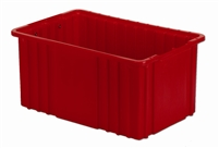 "Carton of (6) DC2-080 - Divider Tote Box, 16-1/2"" L X 10-7/8"""" W x 8"" H"