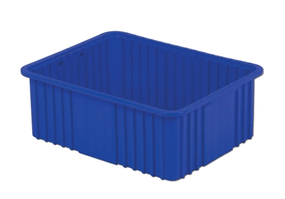 "Carton of (4) DC3-080 - Divider Tote Box, 22-1/2"" L X 17-1/2"" W x 8"" H"