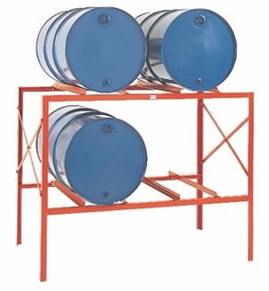 sc 1 st  DC Graves & DR4 - Drum Storage Rack - 2 Levels 4 Drum Capacity