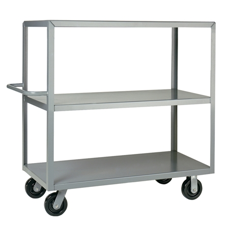"EA19 - Three Shelf Stock Truck - 24"" x 48"" Shelf Size"