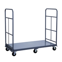 Series PH - Quick Turn Platform Truck with Twin Handles and 6 Wheels