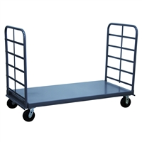 Series PS - Heavy Duty Twin Handle Flush Deck Platform Truck