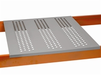 Perforated Steel Pallet Rack Decks