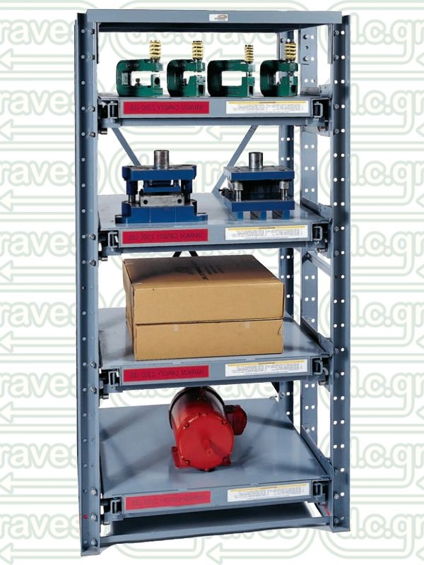 Rsr437 4 Roll Out Shelving Unit