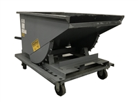 Used Self Dumping Hopper - 1/2 Yard, 4,000-lbs Capacity